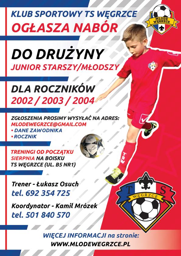 młode węgrzce nabór 2020